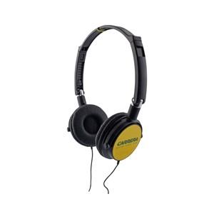 Headphone Speaker Carrera Black & Yellow