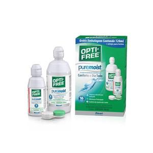 Kit Solução Opti-Free Puremoist 420ml