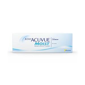Lente de Contato 1-Day Acuvue Moist com Lacreon Grau Diário
