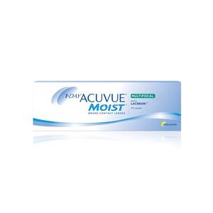 Lente de Contato 1-Day Acuvue Moist Multifocal Grau Diário