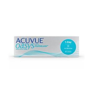 Lente de Contato Acuvue Oasys 1-Day com HydraLuxe