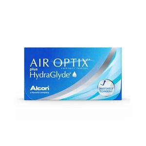 Lente de Contato Air Optix Plus HydraGlyde Grau Mensal