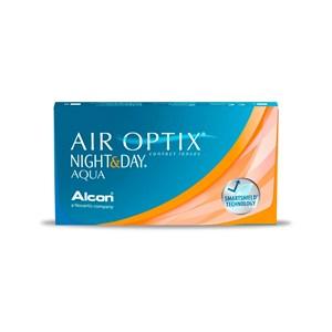 Lente de Contato Alcon Air Optix Night & Day Aqua Grau Mensal