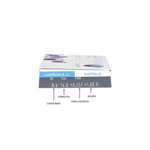 Lente de Contato Biofinity Multifocal com Grau Mensal