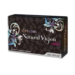 Lente de Contato Natural Vision Dreams Color Grau Anual