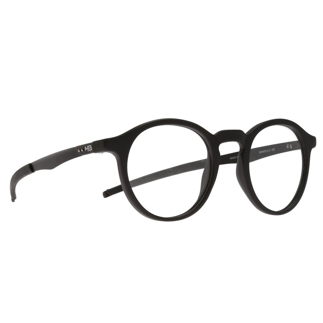 Óculos de Grau HB Duotech 93158 Matte Black Demo