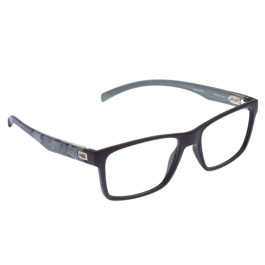 Óculos de Grau HB Polytech 93108 Matte Black Camo Demo