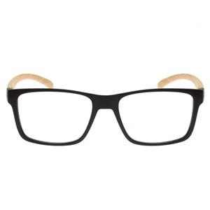 Óculos de Grau HB Polytech 93108 Matte Black Wood Demo