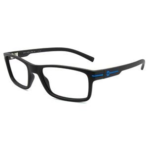 Óculos de Grau HB Polytech 93131 Matte Black D. Blue 710/33