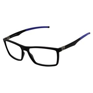 Óculos de Grau HB Polytech 93149 Matte Black D.Blue