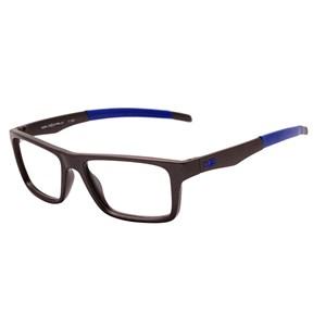 Óculos de Grau HB Switch Clip On 93160 Matte Graphite Espelhado Azul