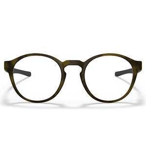 Óculos de Grau Oakley Saddle Titanium Satin Brown Tortoise