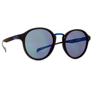 Óculos de Sol HB Brighton Matte Black D. Blue Chrome