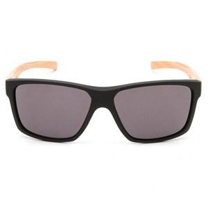 Óculos de Sol HB Freak 90153 Matte Black/Wood 73/100 Gray