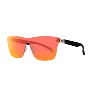 Óculos de Sol HB H-Bomb Mask 90170 Matte Graphite Red Chrome 847/90