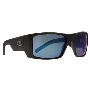 Óculos de Sol Hb Rocker 2.0 Matte Black Blue Chrome