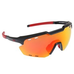 Óculos de Sol HB Shield Compact Road Matte Navy Multi Red