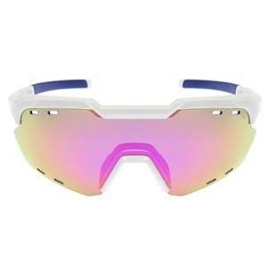 Óculos de Sol HB Shield Compact Road Pearled White Multi Purple
