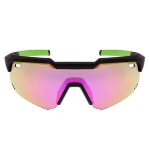 Óculos de Sol HB Shield EVO Mountain Kit Pqp Multi Purple Amber Crystal