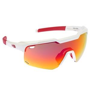Óculos de Sol HB Shield EVO Road Pearled White Multi Red