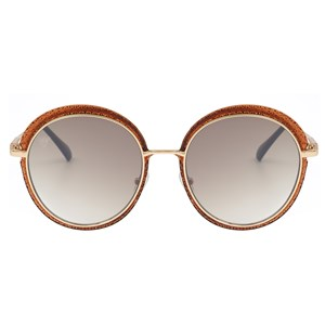 Óculos de Sol Maria Carlota T34 Marrom-56