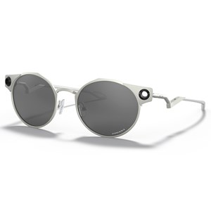 Oculos de Sol Oakley Deadbolt Satin Chrome Prizm Black