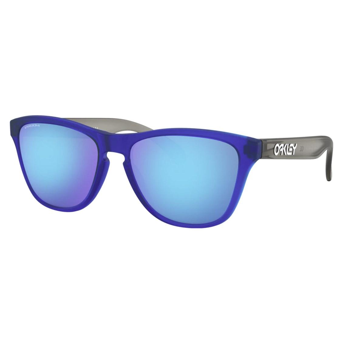 Óculos de Sol Oakley Frogskins Xs Matte Translucent Sapphire OJ9006 12-53