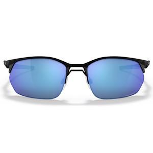 Óculos de Sol Oakley Wire Tap 2.0 Satin Black Prizm Sapphire OO4145 04-60