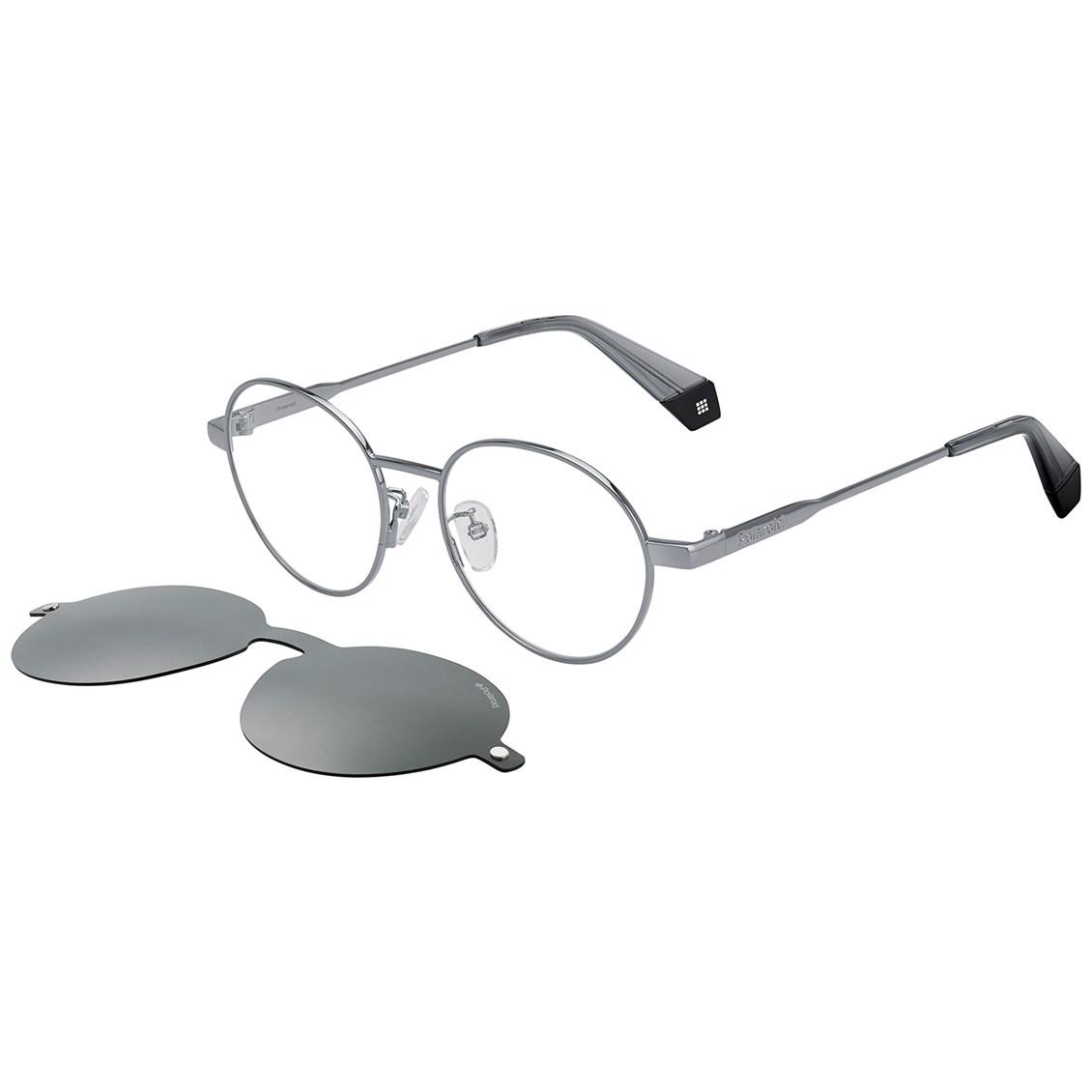 Óculos de Sol Polaroid Polarizado Clip On PLD 6082/G/CS KB7/M9-50