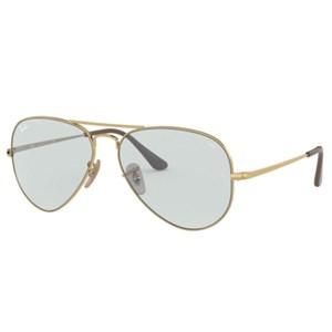 Óculos de Sol Ray Ban Aviador Metal II Evolve RB3689 001/T3-58