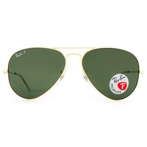 Óculos de Sol Ray Ban Aviador Polarizado RB3025L 001/58-58