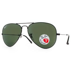 Óculos de Sol Ray Ban Aviador Polarizado RB3025L 002/58-58