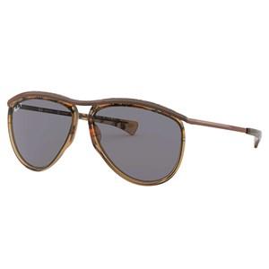 Óculos de Sol Ray Ban Olympian Aviator Polarizado RB2219 128748-59