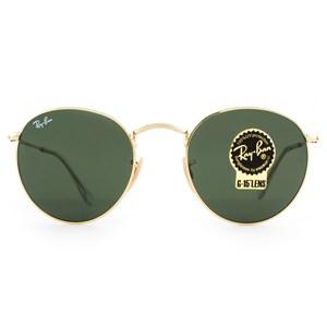 Óculos de Sol Ray Ban Round Metal RB3447L 001-53