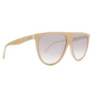 Óculos de Sol Victoria's Secret Pink Glitter Flat-Top PK0015 57F-59