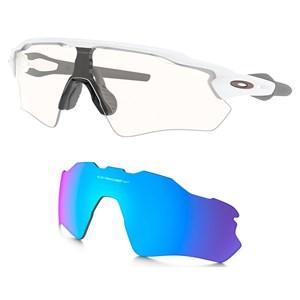 Óculos Oakley Radar Ev Path W. Clear + Lente Prizm Sapphire